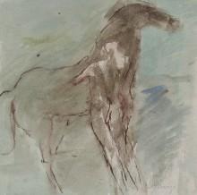 Figure in Horse
