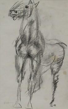 Figure in a Horse