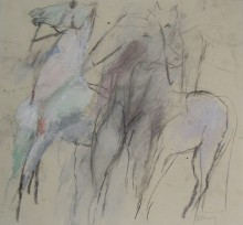 Figures with Horses