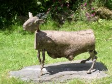 Field sheep bronze